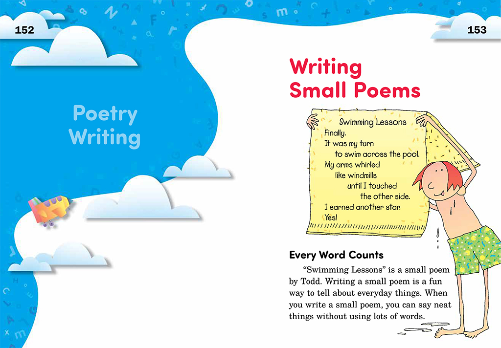 Write Away pages152 and 153