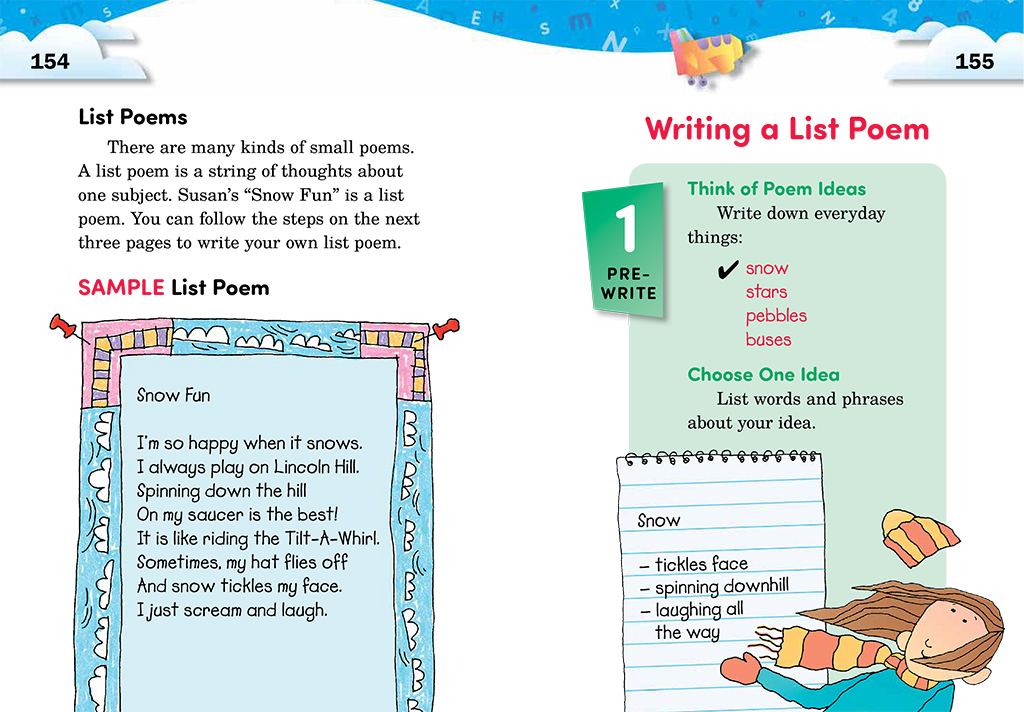 Write Away pages154 and 155