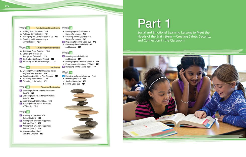In Focus (Grades 3-5) Pages xiv and 1