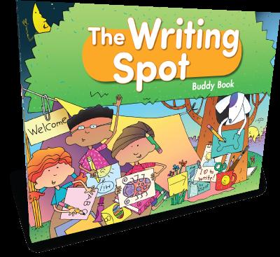 Writing Spot Buddy Book (Kindergarten)